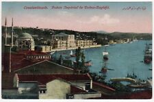 CONSTANTINOPLE Istanbul TURKEY Turkish PC Postcard TURK Dolmabahce Palace