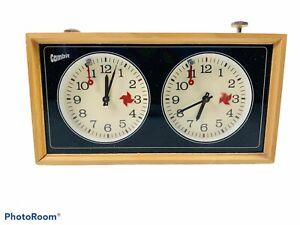 🔥Vintage • Gambit • Mechanical Chess Clock Timer • Rare !
