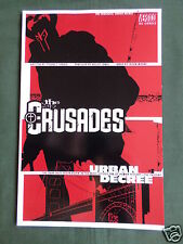 THE CRUSADES URBAN DECREE  -  SOFTCOVER  - VERTIGO DC COMIC- 2001