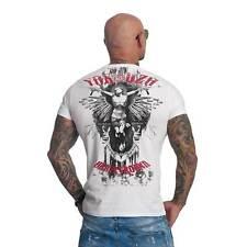 """YAKUZA - Herren T-Shirt TSB 617 """"Underground"""" white (weiß)"""