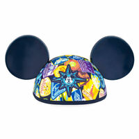 Disney Authentic Mickey Mouse Compass Ear Hat Disneyland Accessory adult