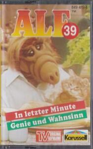 MC Alf Folge Nr. 39 Original Hörspiel zur TV-Serie Karussell
