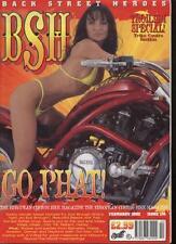 BSH THE EUROPEAN CUSTOM BIKE MAGAZINE - February 2002