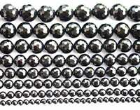 128 Faceted natural Onyx Black Agate Round Beads 15'' 4mm 6mm 8mm 10mm 12mm