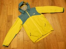 THE NORTH FACE SUMMIT SERIES GORE-TEX SHELL PARKA JACKET BRIGHT YELLOW/BLUE MED