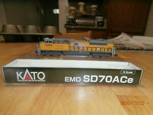 KATO N-SCALE  EMD SD70ACe  DIESEL LOCOMOTIVE--UNION PACIFIC--8424