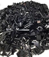 LEGO HUGE BULK LOT OF BLACK PIECES BRICKS PARTS ASSORTED COLOR OVER 7.5 POUNDS