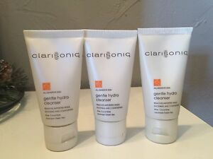 3 Clarisonic Gentle Hydro Cleanser All/Sensitive Skin Travel size (1 fl oz each)