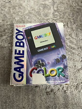 Nintendo GAME BOY Color; Violet-transparent mit OVP