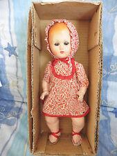 """Poupée ancienne: rare poupée """" M.A.M."""" yeux dormeurs neuve en boite 40 cm."""