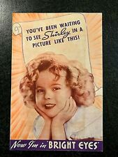 SHIRLEY TEMPLE IN BRIGHT EYES 1934 MOVIE HERALD WITH JAMES DUNN