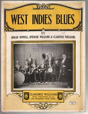West Indies Blues 1923 A J Prion Clarence & Spencer Williams Sheet Music