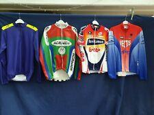 Joblot 4 x Vintage Cycling Jersey  Adults tops large approx  #B57