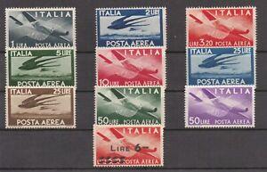 REPUBBLICA - 1945 SERIE DEMOCRATICA. P. AEREA - MNH