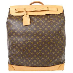 LOUIS VUITTON STEAMER 45 TRAVEL HAND BAG AS1905 MONOGRAM VINTAGE M41126 61868