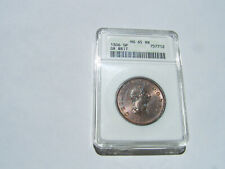 GREAT BRITAIN GEORGE III 1806 1/2 PENNY GEM UNCIRCULATED, CERTIFIED NGC MS-65-RB