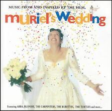 MURIEL'S WEDDING - SOUNDTRACK CD ~ ABBA~BLONDIE~CARPENTERS + TONI COLLETTE *NEW*
