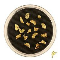 3 Gramm echte XL Gold-Nuggets aus Alaska 4-8 mm 15-30 Stück 20-23kt Barren Münze