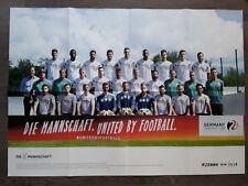 DFB Poster Nationalmannschaft Die Mannschaft WM 2018 FC Bayern München BVB 09 18