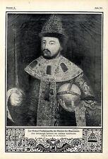 300jähriges Jubiläum des russischen Kaiserhauses Zar Michael Feodorowitsch 1913