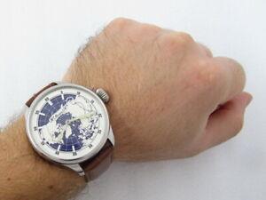 Henry Moser & Cie Antique IWC Schaffhausen Swiss Beautiful Men's Watch SERVICED