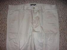 Dockers D1 Mens 36X30 Flat Front Beige Pants 100% Cotton