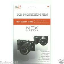 Genuine Sony Screen Protector 2 pcs for Sony A6000 A5100 NEX-7 NEX-6 NEX-5T 5R