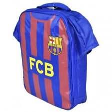 Barcelona FC Children's School Niños Chicos Kit de Caja de Almuerzo Bolsa De Deportes FCB