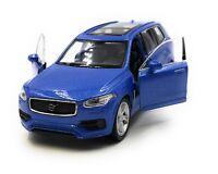 Modellauto Volvo XC90 SUV Blau Auto 1:34-39 (lizensiert)