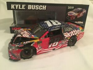 2019 Kyle Busch  #18 Skittles Red, White and Blue Camry   Bad Day at theTrack 8