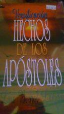 Versificacion de los Hechos by Luis Bernal (1994, Paperback)