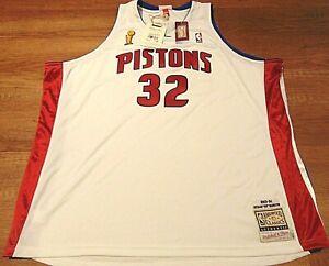 MITCHELL & NESS NBA HWC DETROIT PISTONS RICHARD HAMILTON 2003-04 JERSEY 64 5XL