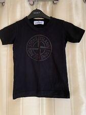 Genuine Stone Island Junior Crew Neck T Shirt AGE 2 Excellent Condition
