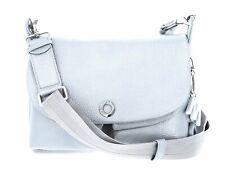 MANDARINA DUCK Mellow Lux Hunting Bag Umhängetasche Tasche Silver Silber