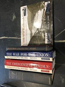 Civil War Book Lot (5 Books)