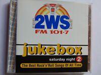 2WS - Jukebox Saturday Night 2 - Rock 'n' Roll - CD - FREE POST