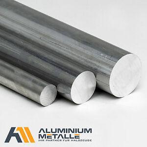Aluminium rund Ø 10 bis 100mm Rundstange Alu AlCuMgPb Rundmaterial Stab 2007