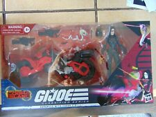 GI JOE Classified Series: BARONESS w/ COBRA COIL BIKE, TARGET EXCLUSIVE IN HAND