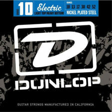 Dunlop Electric Guitar Strings Nickel Wound (10-52) Light Heavy DEN1052 NEW