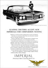 CHRYSLER IMPERIAL CROWN SOUTHAMPTON 1962 RETRO A3 POSTER PRINT FROM ADVERT 1962