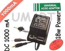 Universal AC DC Transformer Adapter Converter 1.5V 3V 4.5V 6V 7.5V 9V 12V 1000mA