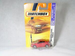 Matchbox Metro Wrinkle N° 26 08 Honda Civic Type R 1:61 New IN Blister