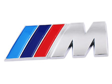 BMW M POWER SPORT DECAL BADGE REAR BOOT EMBLEM STICKER SERIES 1 2 3 4 5 6 7