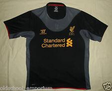 LIVERPOOL FC / 2012-2013 Away - WARRIOR - JUNIOR Shirt / Jersey. Size XLB, 158cm