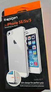 Coque Spigen Thin Fit Iphone SE 2016 - 5S - 5 NEUF