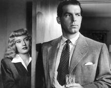 1944 Film Double Indemnity Glossy 8x10 Photo Fred Macmurray & Barbara Stanwyck