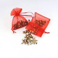 süße Mini Holzsterne verschiedene Sterne Streuteile aus Holz 1 mm bis 1 cm