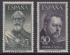 SERIE LEGAZPI Y SOROLLA ** 1124/1125 AÑO 1953 SIN FIJASELLOS MUY BIEN CENTRADOS