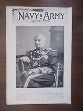 VINTAGE MAGAZINE THE NAVY & ARMY ILLUSTRATED VOLUME 1 No 7 MARCH 20th 1896