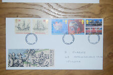 April 1992 First Day Cover; Europa; International Events; Excellent Condition